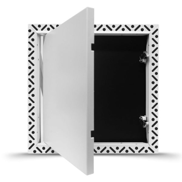 Beaded Frame Touch Latch Access Panel